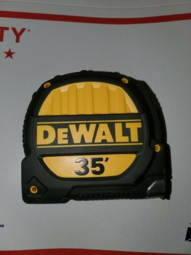 NEW DEWALT 35-ft TAPE MEASURE # DWHT33976 No Package