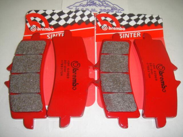 Pastillas BREMBO Rojo Delanteros Ducati 1100 Hypermotard Evo Sp 10>07BB37SA