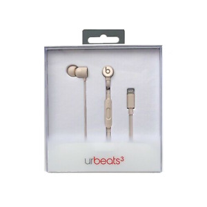 CUFFIE AURICOLARI BEATS BY DR.DRE URBEATS 3 ORO CONNETTORE LIGHTING