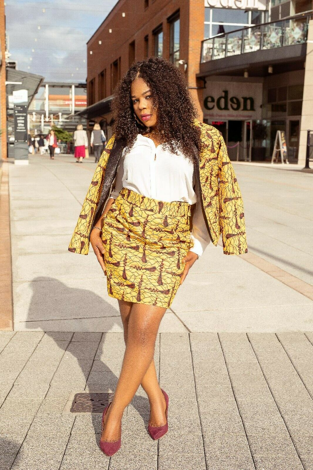 African Print Signature Skirt /Ankara Skirt for Women /African Women's Clothing