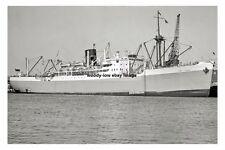 rp15614 - Port Line Cargo Ship - Port Vindex , built 1943 - photo 6x4