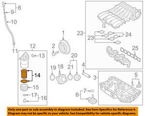 VW-VOLKSWAGEN-OEM-14-17-Touareg-Engine-Oil-Filter-03H115562