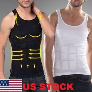 3506cbf3c77c 2018 Men Body Shaper Slimming Shirt Full Waist trainer Shapewear ...