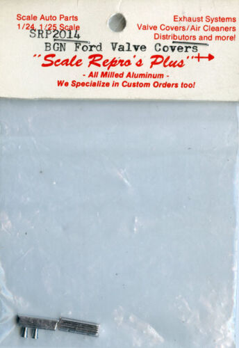 Scale Repro/'s Plus 1:24 1:25 BGN Ford Valve Covers Metal Detail Set #SRP2014