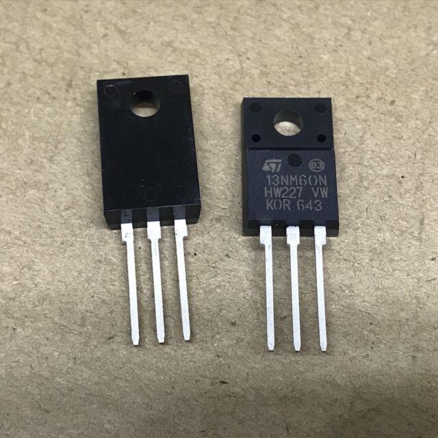 10PCS STP4NK60ZFP P4NK60ZFP TO-220F ST N-CH 600V 4A