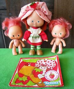 Vintage Strawberry Shortcake Doll-Angel CakeHat Factory