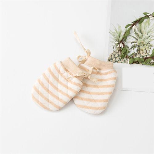 Newborn Baby Thicken Lined Mittens Infant Boys Girls Winter Warm Gloves G