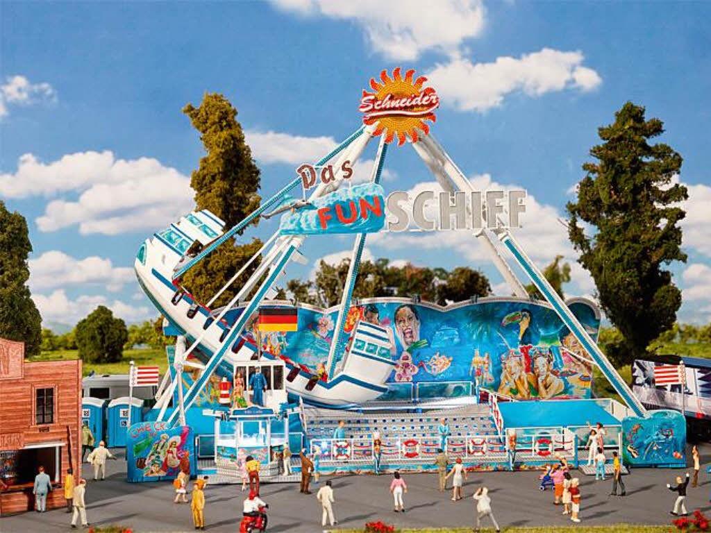 Faller 140420 di guida Business Fun-nave anno mercato fiera KIT h0 NUOVO