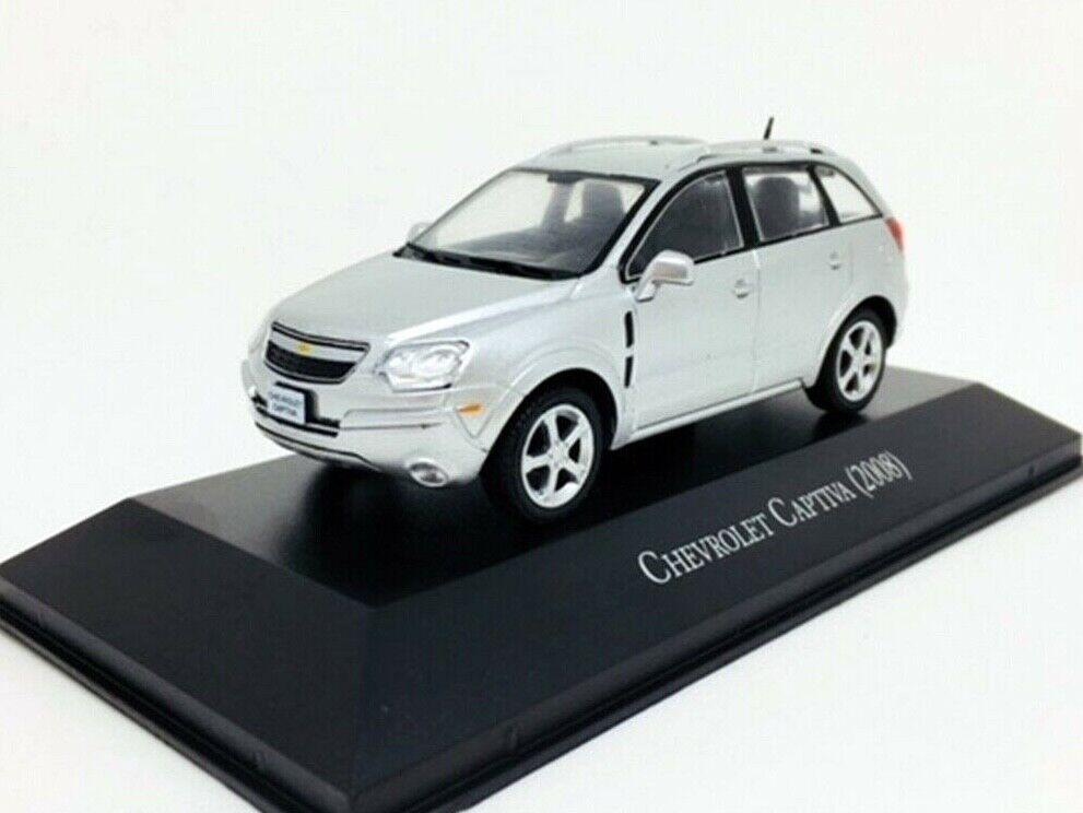 Chevrolet Captiva 2008 Brasilien samling Sällsynta bil tärningskast skala 1 43 Ny