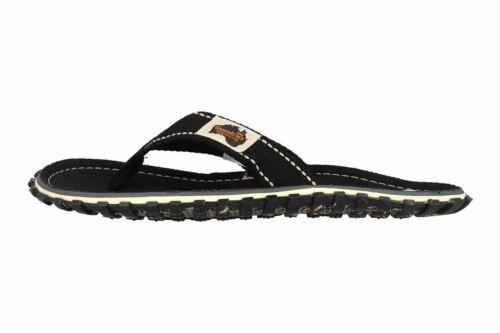 Übergrößen Schwarz Unisexschuh 2215 Black Islander Gumbies Große Zehentrenner In g7XIw