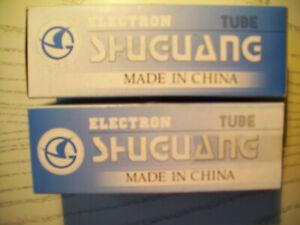 Paar-2-Stck-ShuGuang-2-A-3-B-98-Electronenrohre-034-matched-Paar-034-neu-ungebraucht