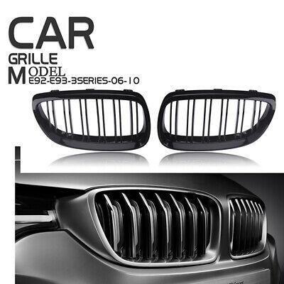 BMW E92 E93 Pre-facelift 330i 335i 2007-2011 Matt Black Front Grille