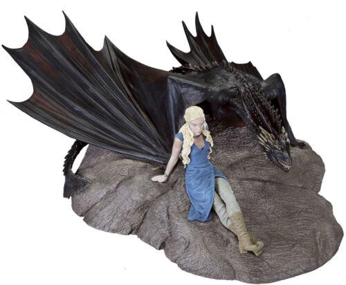 "Daenerys Targaryen /& Drogon 7/"" x 9/"" Statuette GAME OF THRONES Dark Horse"