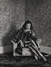 1984 Vintage 11x14 FELICITAS BOCH Fashion Super Model Photo Gravure ~ HERB RITTS