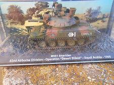 "DIE CAST TANK "" M551 SHERIDAN SAUDI ARABIA - 1990 1/72"