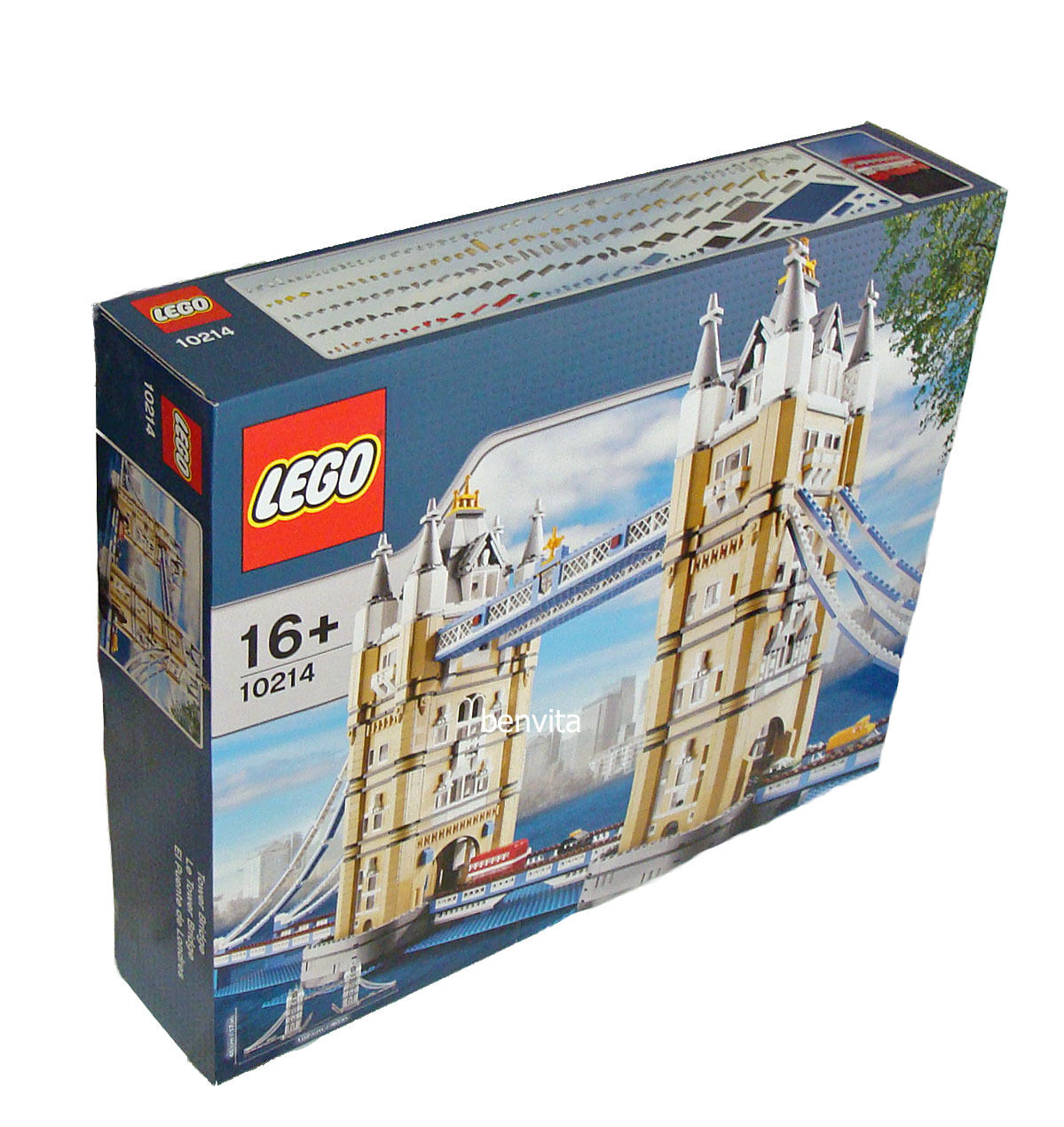 Lego® 10214 - Tower Bridge 4287 Teile 16+ - Neu