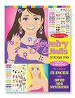 Melissa and Doug 4223 Jewelry & Nails Glitter Collection Sticker Pad