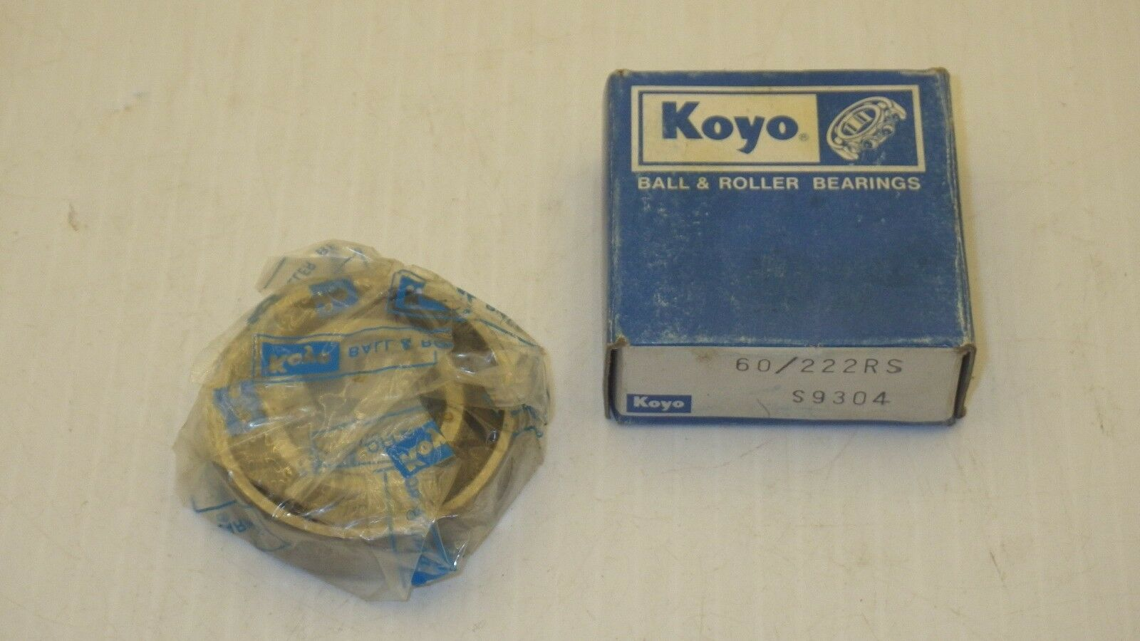 2 NEW KOYO 6206ZZC3 SINGLE ROW DEEP GROOVE ROLLER BEARINGS NIB ***MAKE OFFER***