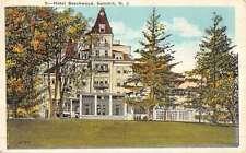 Summit New Jersey Hotel Beechwood Street View Antique Postcard K49061