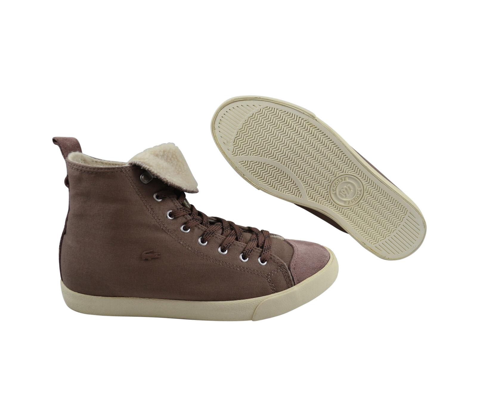 Lacoste L27 Outdoor Mid SRW brown Schuhe/Sneaker braun Größenauswahl!