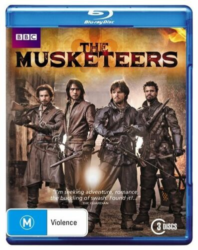 1 of 1 - The Musketeers (Blu-ray, 2014, 3-Disc Set) Brand New & Sealed