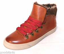 """Clarks Ladies """"MARBLE GLORE"""" tan leather ankle boots size 7D New"""