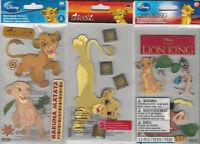 U Choose Assorted Disney The Lion King 3d Stickers Simba Nala Timone