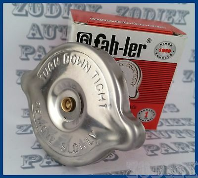 New Stainless Steel Radiator Rad Cap 1.1 Bar 60mm