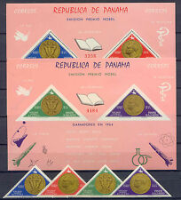 Nobelpreis, Raumfahrt, Space - Panama - 828-831, Bl.38-39 ** MNH 1965