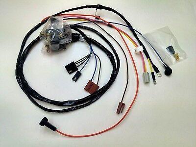 1969 chevelle el camino engine starter wiring harness gauges hei 307 327 350 ss ebay 1969 chevelle alternator wiring diagram