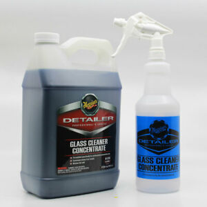 Meguiars-D120-Glass-Cleaner-1-Gallon-With-Spray-Bottle-amp-Sprayer-D12001-BTL