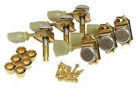 Gotoh Sd90 Magnum Lock Traditional Locking Kluson 3 X 3 Tuners Gold