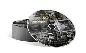 COMPLETA Seconda Guerra Mondiale Film LIBRERIA, 14 ore totali su un DVD 7 SET-J20