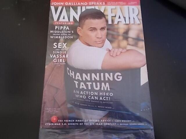CHANNING TATUM July 2013 VANITY FAIR MAGAZINE NEW