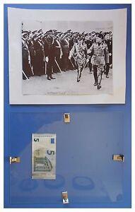 Benito-Mussolini-allievi-accademia-aviazione-duce-fascismo-quadro-cornice-vetro