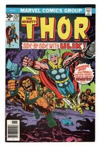 THE-MIGHTY-THOR-253-9-2-TALES-of-ASGARD-BACK-UP-STORY-ULIK-APP-SHIPS-FREE
