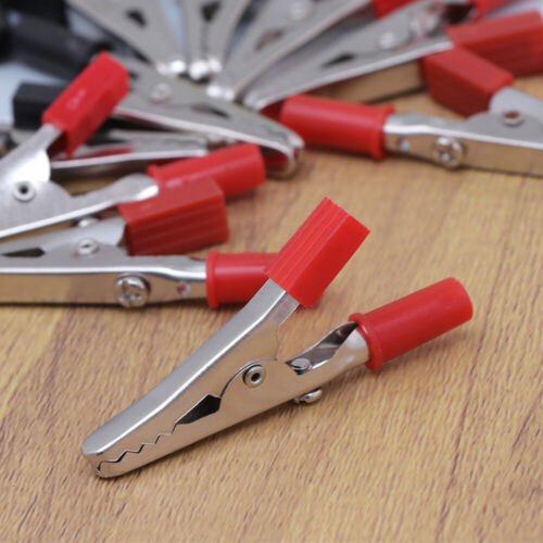 20PCS Alligator Clips Double-ended Alligator Test Clips Electrical Equipment