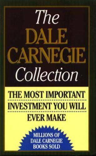 The Dale Carnegie Collection: The Leader in You; How to Win Friends  - VERY GOOD