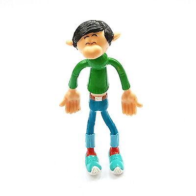 Flexible figurine gaston lagaffe advertising quick gaston stupefait 12 cm