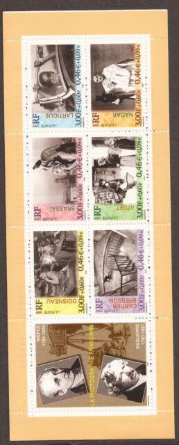 VARIETE CARNET1999 PHOTOGRAPHES impression doublée sur 5 timbres BC3268 1 650 €