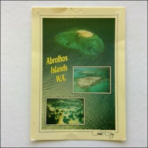 Abrolhos-Islands-WA-1987-Postcard-P397