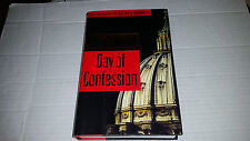 Day of Confession by Allan Folsom (1998, Hardcover) FIRST PRINTING