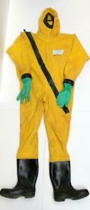 HYGRAPHA RINBA TYPE PATROL GASTIGHT CHEMICAL PROTECTIVE SUIT SIZE XL