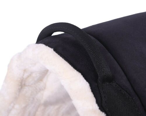 Bareback Pad Velour Riding Without Saddle with Soft Faux Fur And Grip Pony //