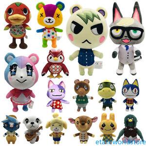 Animal-Crossing-Shizue-Isabelle-KK-Slider-Tom-Nook-8-039-039-Plush-Toy-Doll-Fans-Gift