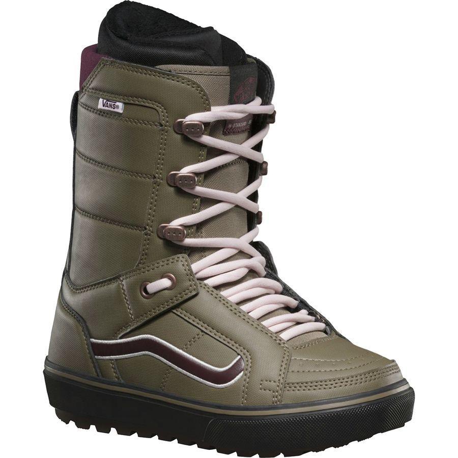 Vans Hi-Standard OG New 2019 Women Snowboard Boots  Green Burgundy Size 6.5  be in great demand