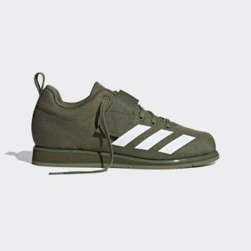 Adidas Weightlifting Shoes Powerlift 4 Khaki Mens BC0344