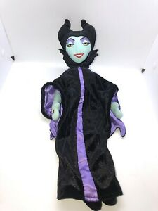 Details About Disney Sleeping Beauty Plush Maleficent Rag Doll Green Face Smile 18