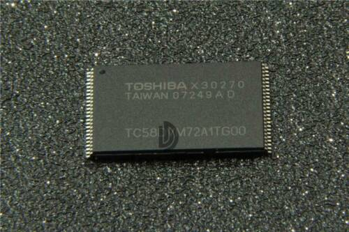 1PCS NEW TOSHIBA TC58DVM72A1TG00 Encapsulation:TSOP-48
