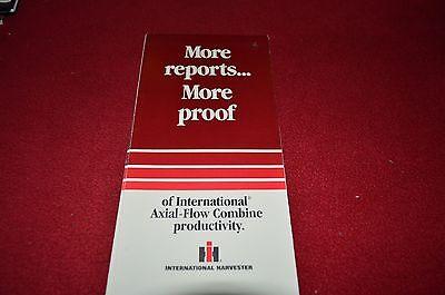 International Harvester 1460 1440 1480 Combine Dealer/'s Brochure GDSD2